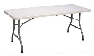 We provide tables